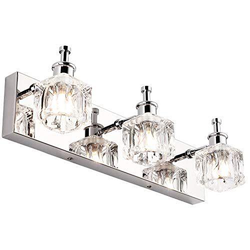 Presde Vanity Lights Bathroom Fixture Over Mirror 3 Lights Led Modern Bath Lighting Wall Scon Light Fixtures Bathroom Vanity Bathroom Fixtures Chrome Fixtures