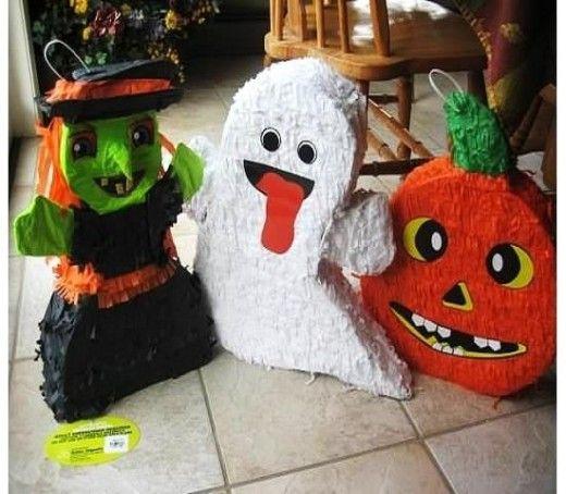 Halloween Pinata Fun
