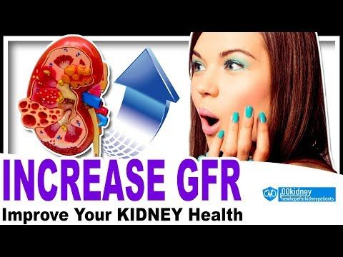 Easiest How To Increase Gfr For Renal Patients 3 Step Method W Foods Good For Kidneys Youtube Foods Good For Kidneys Kidney Treatment Kidney Health