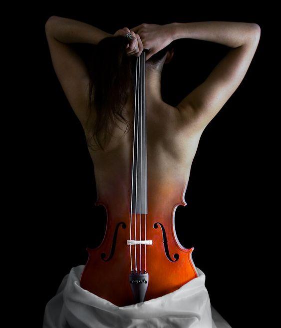 Cello Woman Nude 38