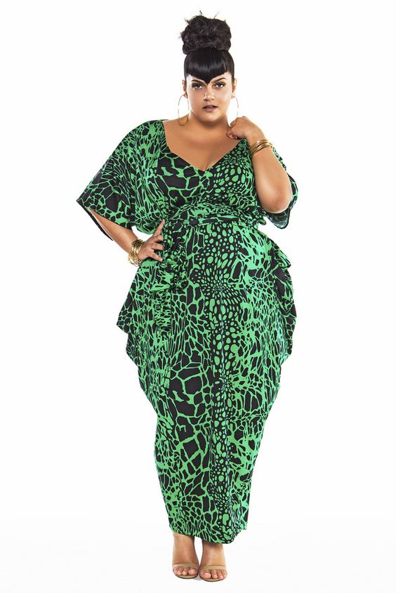 Plus Size Designer- Jibri Spring 2016 Collection on TheCurvyFashionista.com: