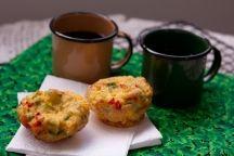 Muffin de ovo com fibras - Priscila Di Ciero