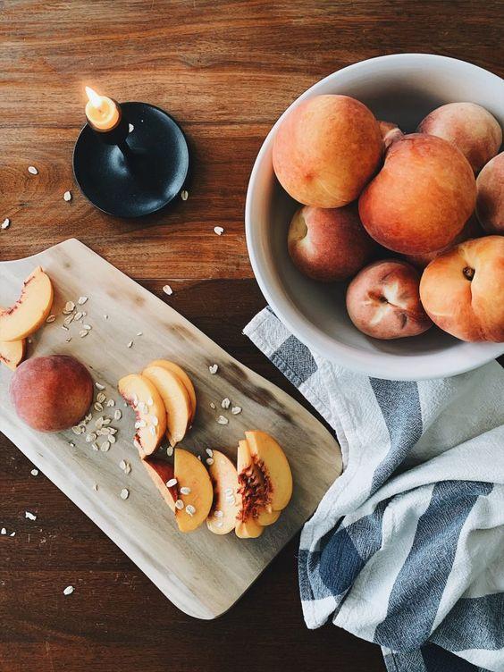 Recipe | August Peach Crisp - The Quick Journey