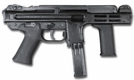 Spectre M4, submachine gun, 30-50 rounds