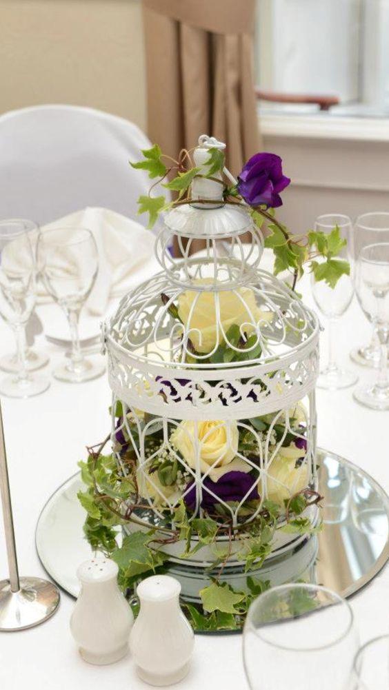 birdcage flowers: