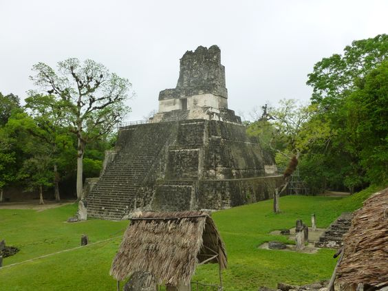 Tikal, Guatemala in the morning
