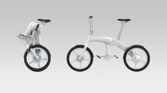 Footloose: a primeira bicicleta dobrável sem correia e elétrica do mundo