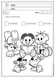 Resultado de imagem para registro numérico 0 educação infantil