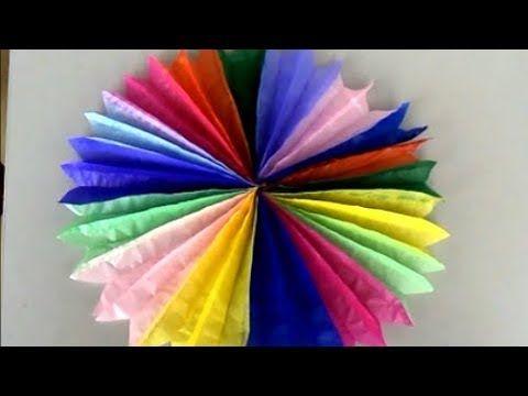 Como Fazer Fiorata Ou Roseta Colorida Decoracao Festa Junina