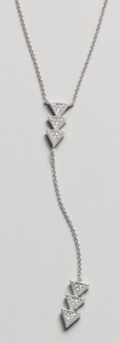 triangle y-necklace