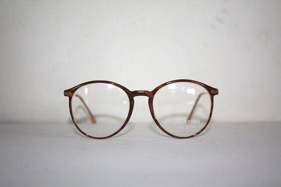 Vintage Brillen einkaufen 1101 Fiber Glas Runde von GlassesVintage, €59.00
