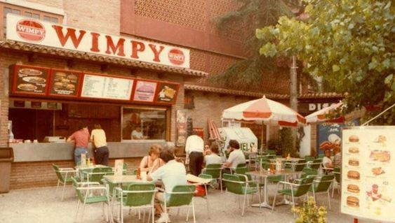 Wimpy Bar In Lloret De Mar Costa Brava Spain Costa Brava Spain
