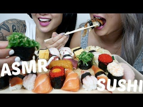 Asmr Assorted Nigiri Sushi No Talking Relaxing Eating Sounds N E Let S Eat Youtube Nigiri Sushi Sushi Nigiri Eating, chewing, gulping sounds ect.are done very loudly for video purposes. asmr assorted nigiri sushi no