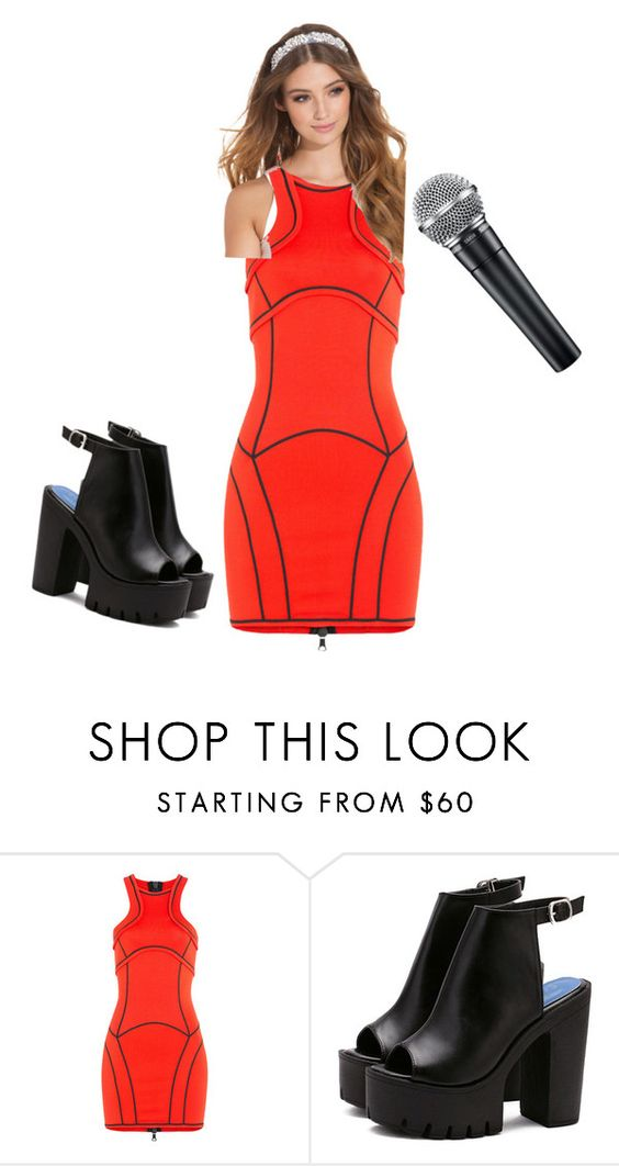 """""""Untitled #3"""" by cecelia0430 ❤ liked on Polyvore featuring Dsquared2, JFR, thevoice and YahooView"""