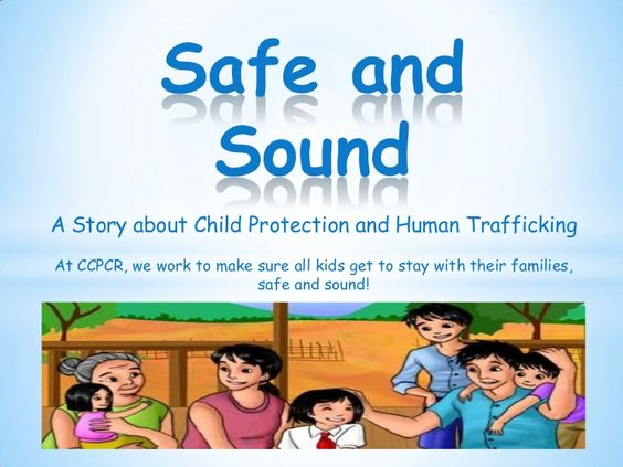 Safe and Sound: A Picture Book on Child Protection and Human Trafficking