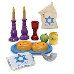Rosh Hashana Shabbat set for children or the classroom