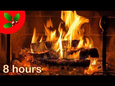 8 Hours Christmas Fireplace Acoustic Guitar Christmas Music Instrumental Yule Log Youtube Christmas Music Xmas Music Favorite Christmas Songs