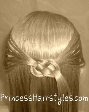 Celtic knot or pretzel knot