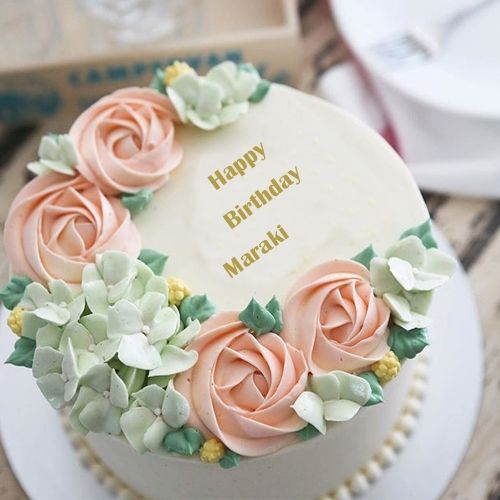 Write Name On Most Beautiful And Stylish Birthday Cake Toyrtes