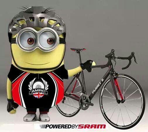 Cycling Minion ) minions Pinterest Minions and Cycling