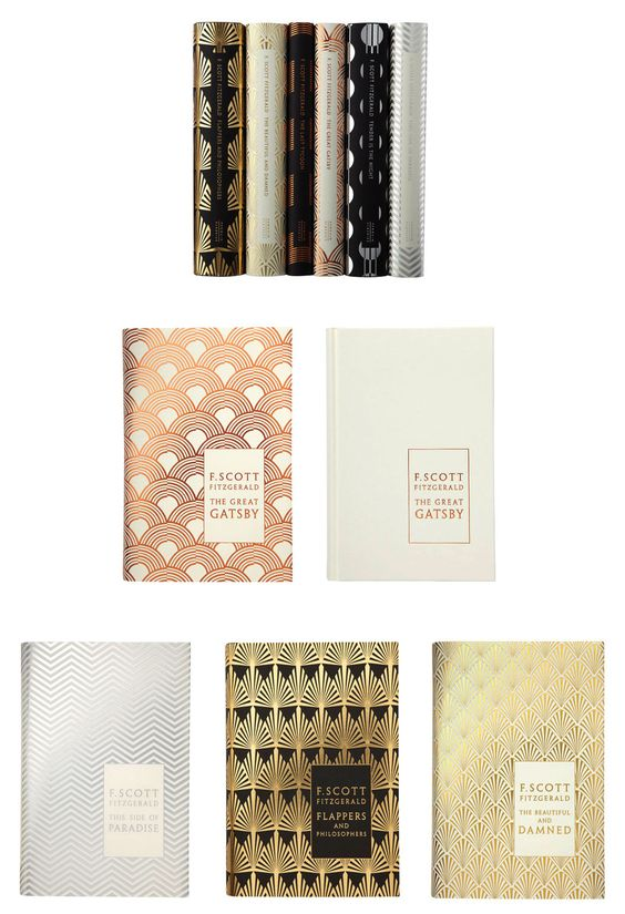f. scott fitzgerald decor book covers