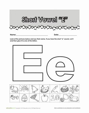 Printables Short E Worksheets For First Grade words google and phonics on pinterest first grade worksheets short e words