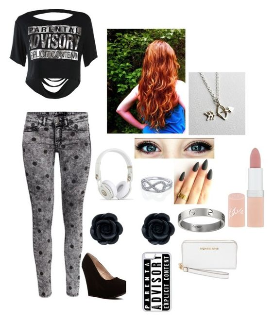 """""""Lisa #9"""" by parisbaby121 ❤ liked on Polyvore featuring CellPowerCases, Rachel Pfeffer, MICHAEL Michael Kors and Rimmel"""