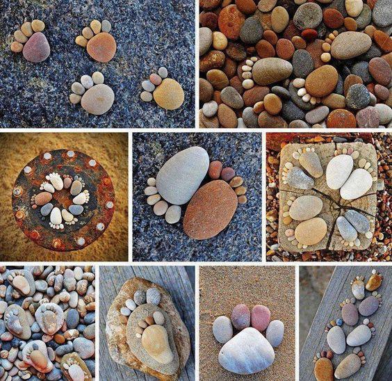 Pebble Feet Craft   DIY Cozy Home: