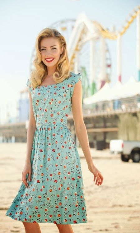 Modest Clothing for Women: Cute Modest Retro Dresses All of these are super cute!!!!!!!!: