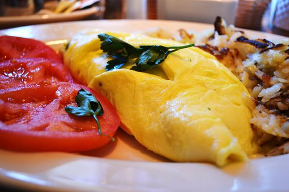 Swiss cheese, Omelettes and Green onions on Pinterest