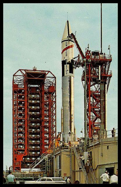 Vintage NASA Postcard, 1960's   Flickr - Photo Sharing ...