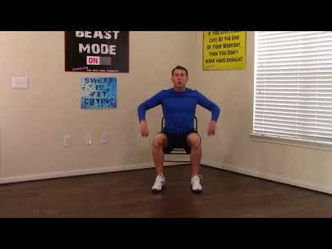 10 Min Chair Workout For Seniors Hasfit Seated Exercise For Seniors Chair Exercises For Elderly Youtube Senior Fitness Chair Exercises Seated Exercises