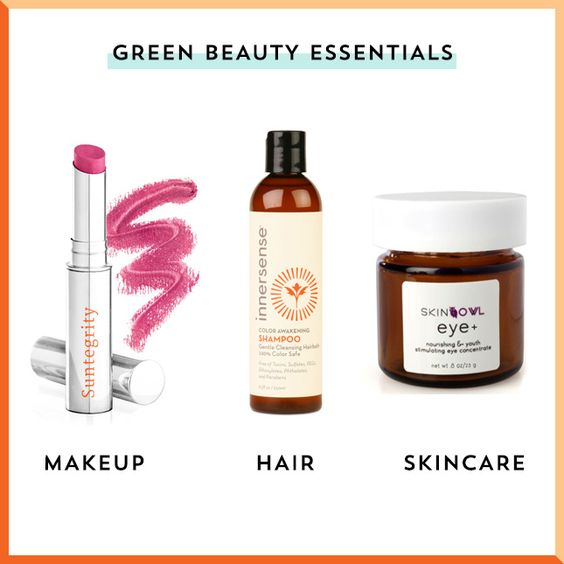These makeup, hair + skincare products are the only green beauty essentials you need.