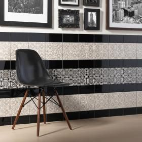 Yamina Light Inset Tiles