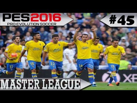 PES 2016 Master League #45 Las Palmas x The Old Boys