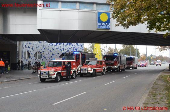BF Wien: Brand in Tiefgarage #feuerwehr #firefighters