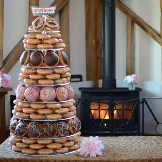 I'm pretty sure I've got your attention. After all, who doesn't love a Krispy Kreme doughnut?! If you are like me then read on for your chance to win an utterly fabulous and extremely delicious doughnut tower for your big day. Krispy Kreme's show stopping Doughnut Wedding Towers... #krispykreme