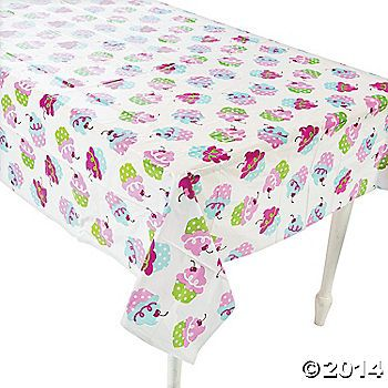 Bake up some fun with this Birthday Bakery Tablecloth. Great for a baking party at a little baker's birthday, this sweet Tablecloth will make cleanup ...