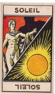 Cartas do Destino: Destino e Tarô: Tarot Astrologique - A Carta Sol