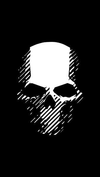Pin By Brenna Coy On Salvamentos Rapidos In 2021 Ghost Logo Black Skulls Wallpaper Skull Wallpaper