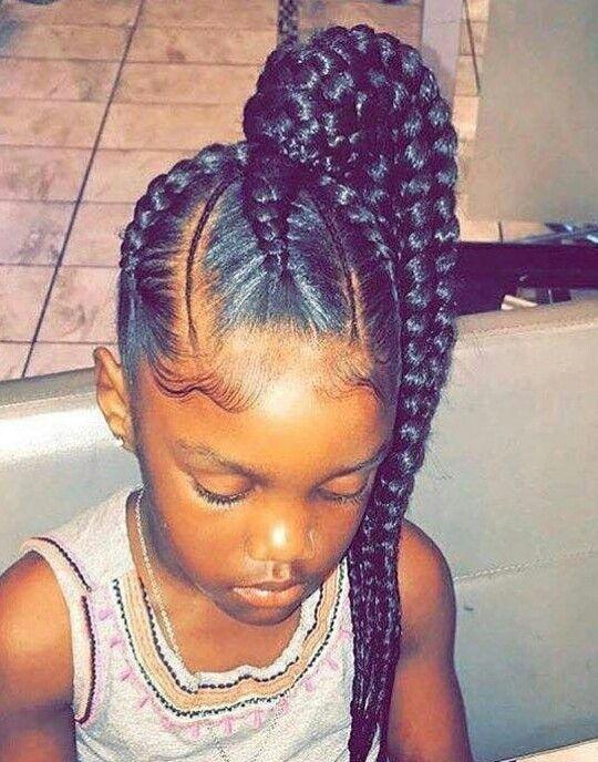 Bbgxloni For Daily Pinz Girls Hairstyles Braids Little Black Girls Braids Kids Braided Hairstyles
