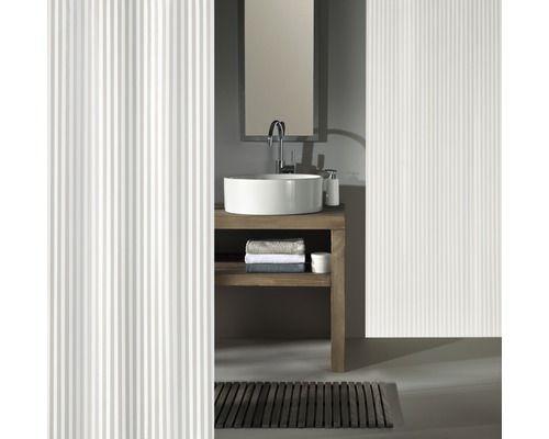 Duschvorhang Kleine Wolke Sanna Weiss Textil 120 X 200 Cm Vanity