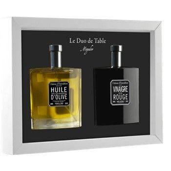 Estoublon, Le Duo de Table: Un regalo original. Aceite y vinagre que dará un toque de glamour a cualquier mesa. (34,00€)