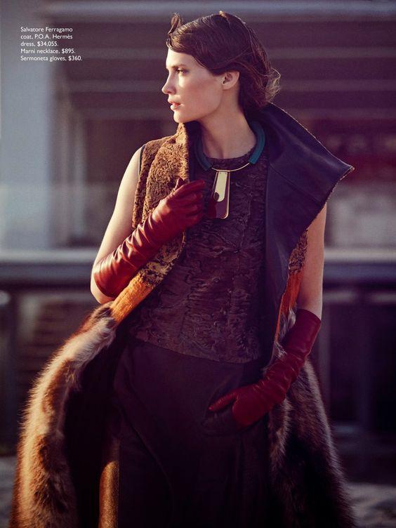 Publication: Vogue Australia September 2014 Model: Drake Burnette Photographer: Will Davidson Fashion Editor: Christine Centenera Hair: Sophie Roberts Make-up: Chino Omae