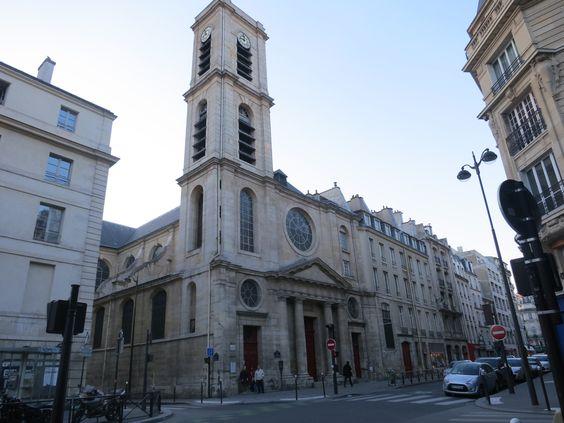 Paris - igreja de Saint Jacques de Haut Pass, um dos principais cenários do livro Renúncia.
