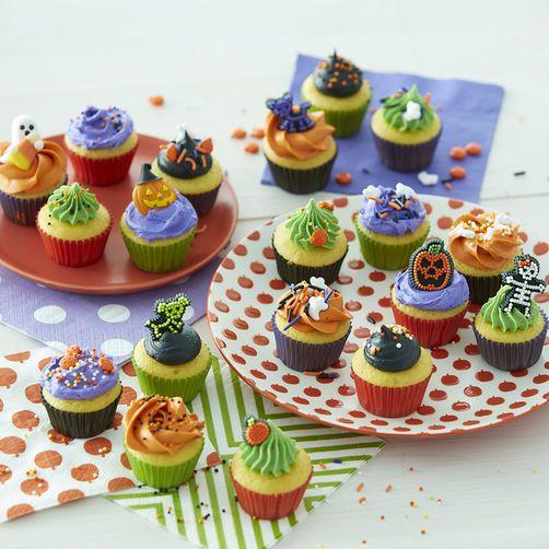 Halloween Mini Cupcakes in 2019