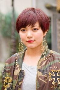 CANNA - Short Hair Cut - Red Hair - style-arena.jp