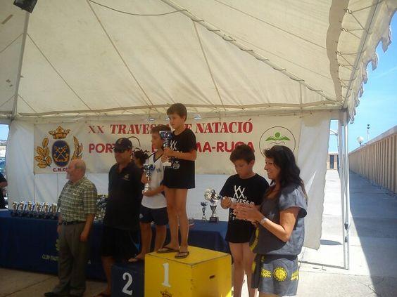 Nil guanyador de la Travessia de Coma-ruga 2014