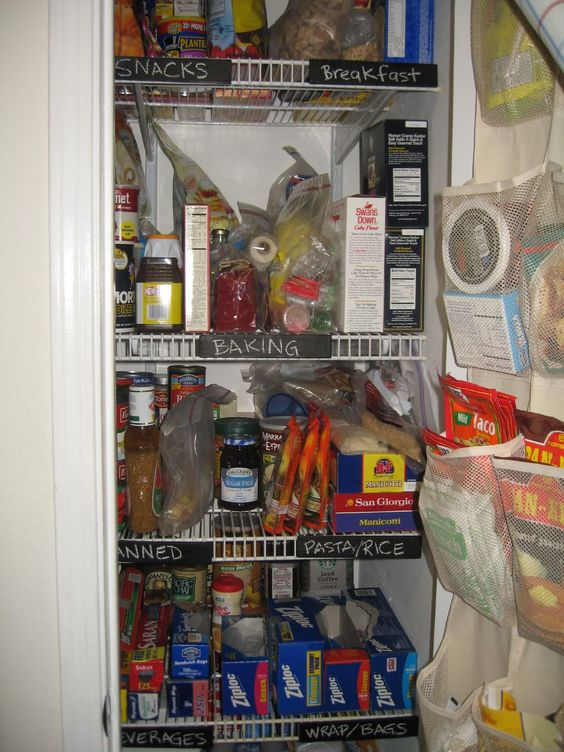 What's in your pantry? Find Recipes using Ingredients you already have on hand.  (photo by roger mommaerts on Flickr)