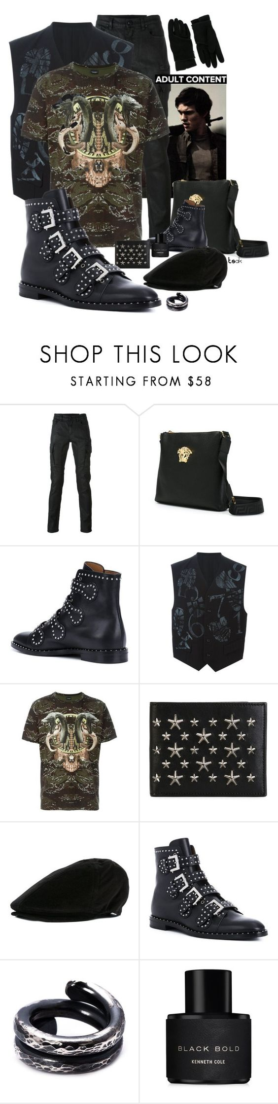 """""""Shut up"""" by princeoftyre ❤ liked on Polyvore featuring Belstaff, Comme des Garçons, Jimmy Choo, Dolce&Gabbana, Chin Teo, Kenneth Cole, men's fashion and menswear"""